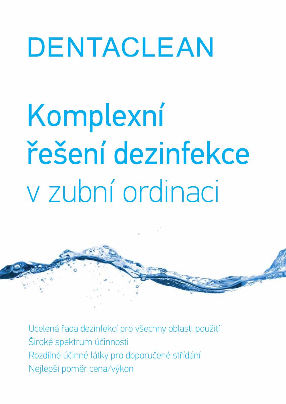 Katalog Dentaclean 2018 Komplexní řešení hygieny